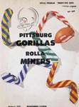 Rolla Miners vs. Pittsburg Gorillas by Kansas State Teachers College