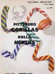 Rolla Miners vs. Pittsburg Gorillas