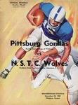 Northern State Teachers College Wolves vs. Kansas State College of Pittsburg Gorillas