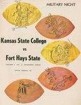 Fort Hays State vs. Kansas State Teachers College by Kansas State Teachers College