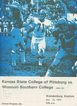 Missouri Southern College vs. Kansas State College of Pittsburg by Kansas State College of Pittsburg