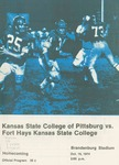 Fort Hays Kansas State College vs. Kansas State College of Pittsburg