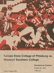 Missouri Southern College vs. Kansas State College of Pittsburg