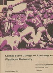 Washburn University vs. Kansas State College of Pittsburg by Kansas State College of Pittsburg