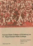 Ft. Hays Kansas State College vs. Kansas State College of Pittsburg