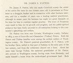 James Patton Biography, page 1