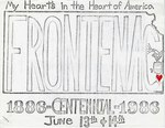 Sign for Frontenac's Centennial