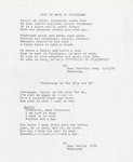 Songs for Frontenac's Centennial by Gray, Mary Holstine and Trelip, Mary