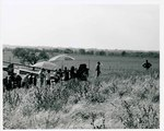 "F08_E01_01 ""The Learning Tree"" crew setup for an exterior scene while Gordon Parks, Jr. surveys the area on location in Bourbon and Linn counties, Kansas by Unknown"