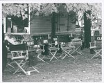 "F09_E10_01 ""The Learning Tree"" cast's chairs on location in Bourbon and Linn counties, Kansas by Unknown"