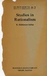 Studies in Rationalism