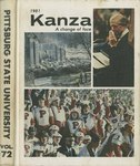 The Kanza 1981 by Pittsburg State University