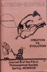Logos-Sophia: Creation vs. Evolution