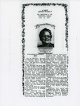 Obituary for Elizabeth Maxwell by Unknown