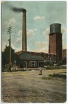 City Water Works, Pittsburg, kansas by The Souvenir Post Card Company