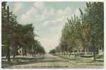 Euclid Avenue Looking West, Pittsburg, Kansas by The Souvenir Post Card Company