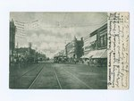1907, Broadway lookin North, Pittsburg, Kansas