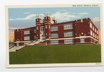 High School, Pittsburg, Kansas by Fogarty News Company and Curt Teich & Company