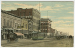 Broadway Looking North from Fourth Street, Pittsburg, Kansas by S. H. Kress & Company