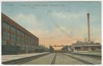 Kansas City Southeren Shops, Pittsburg, Kansas. by Acmegraph Co.