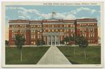 Russ Hall, Kansas State Teachers College, Pittsburg, Kansas by Curt Teich & Company