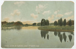 Scene on Playter's Lake, Pittsburg, Kansas by The Souvenir Post Card Company