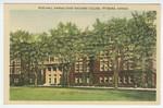 Russ Hall, Kansas State Teachers College, Pittsburg, Kansas by M. C. Branaman