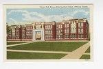 Carney Hall, Kansas State Teachers College, Pittsburg, Kansas. by Curt Teich & Company