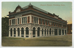 Masonic Temple, Pittsburg, Kansas by Central Post Card Company