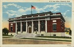U. S. Post Office, Pittsburg, Kansas by Curt Teich & Company