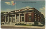 U.S. Post Office, Pittsburg, Kansas, by M. C. Branaman, Legend
