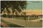 Entrance to Lincoln Park, Pittsburg, Kansas by S. H. Kress & Company