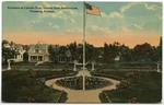 Entrance to Lincoln park, viewed from Auditorium, Pittsburg, Kansas by S. H. Kress & Company