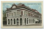 Masonic Temple Pittsbur, Kansas by S. H. Kress & Company