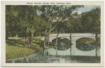 Stream through Lincoln Park, Pittsburg, Kansas by S. H. Kress & Company