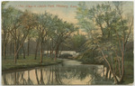 View in Lincoln Park, Pittsburg, Kansas by The Acmegraph Company