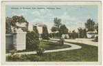 Entrance to Highland Park Cemetery, Pittsburg, Kansas by S. H. Kress & Company