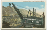 Largest Steam Shovel in the World, Pittsburg, Kansas by Curt Teich & Company