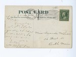 1912, Fourth Street, Pittsburg, Kansas - Back by Unknown
