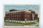 "1948, Municipal Auditorium, Pittsburg, Kansas - Front by American Art"""" Post Card Co."
