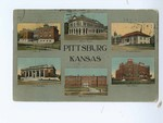 1912, Pittsburg, Kansas - Front by Central Post Card Co.,
