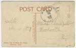 Kansas City Southeren Ry. Shops, Pitsburg, Kansas - Back by International Post Card Company