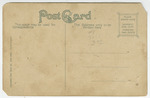 Scene on Playter's Lake, Pittsburg, Kansas - Back by The Souvenir Post Card Company
