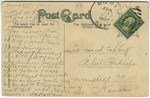 City Water Works, Pittsburg, kansas - Back by The Souvenir Post Card Company