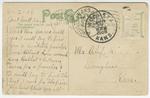 Coal Mining Shaft, Pittsburg District, Pittsburg, Kansas - Back by The Souvenir Post Card Company
