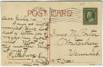LaBelle Theatre, Pittsburg, Kansas - Back by International Post Card Company