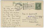 Pittsburg Strip Pit, Pittsburg, Kansas - Back by The Souvenir Post Card Company