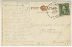 Masonic Temple, Pittsburg, Kansas - Back by Central Post Card Company