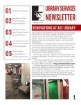 Library Services Newsletter by Leonard H. Axe Library