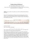 "Problem Solving Practice with Problems from Fibonacci's ""Liber Abbaci"""